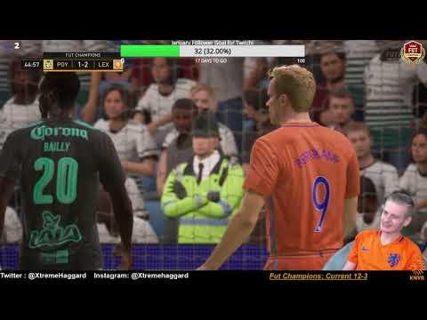 FIFA 18 Fut Champions games 15-20! Pele and Cr7! Gullit gang! Xbox live