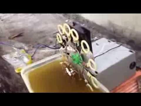 Máy thổi bong bóng xà phòng tự chế (Made by Thắng