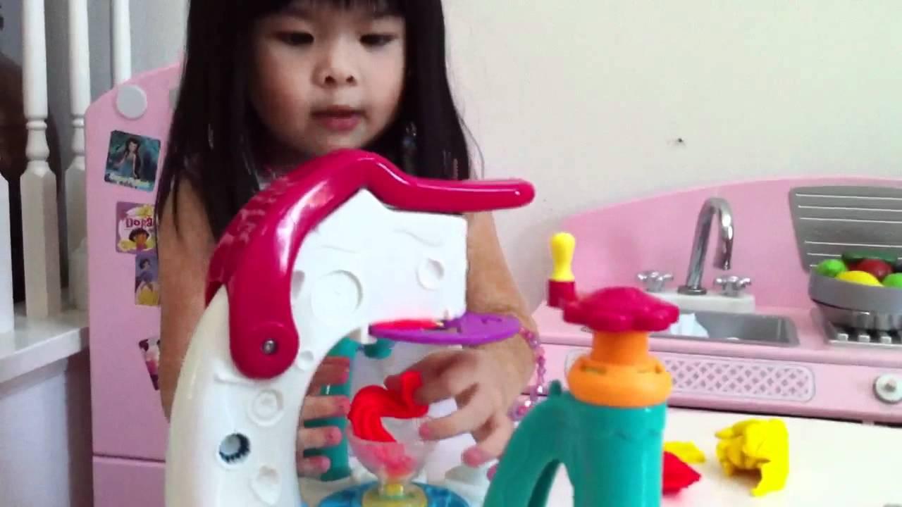 Video play doh es cream