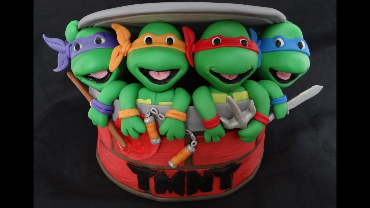 ninja turtles fondant