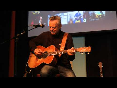 Tommy Emmanuel Workshop 2012-01-21_02 Warming up (1) &quot;The man with the green thumb&quot;