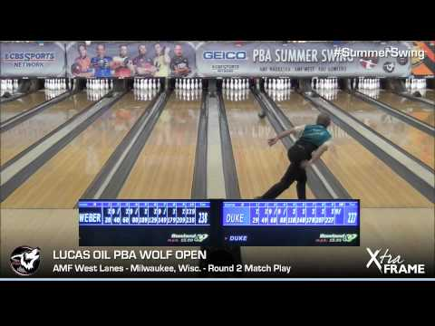 Wicked break costs Norm Duke #1 seed in PBA Wolf Open