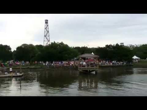 Miss Georgia boat ride. McClellanville Shrimp Festival 2014