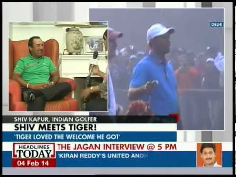 Tiger woods loved the welcome he got in Delhi: Shiv Kapur