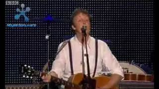 Paul McCartney Yesterday Live At Anfield, Liverpool