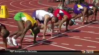 Baylor Track And Field: Trayvon Bromell Breaks 100M Dash