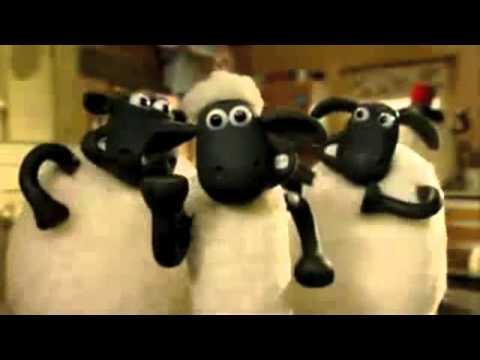 Shaun the Sheep Dances to House Music