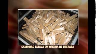 Pol�cia apreende 350 quilos de drogas a bordo de caminh�o em Uberaba