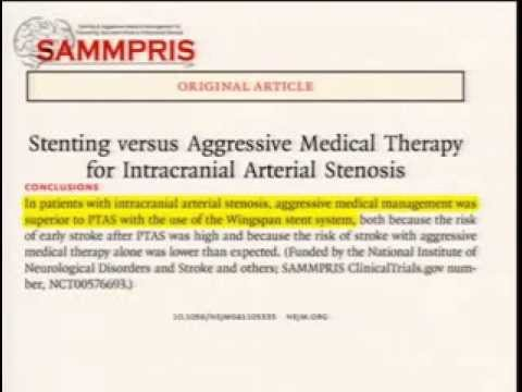 Stenting and Aggressive Medical Management for Preventing Recurrent Stroke