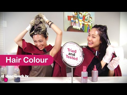 Hair Colour For Chinese New Year - Tried and Tested: EP46