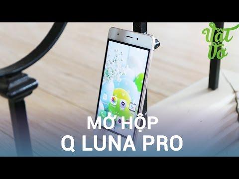 Vật Vờ| Mở hộp & đánh giá nhanh Q Luna Pro: 4,990,000đ có cảm biến vân tay, USB Type C