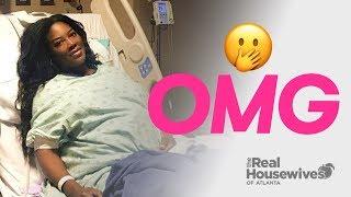 Kenya Moore Just Had A Baby Girl! After Bad News   RHOA Season 11