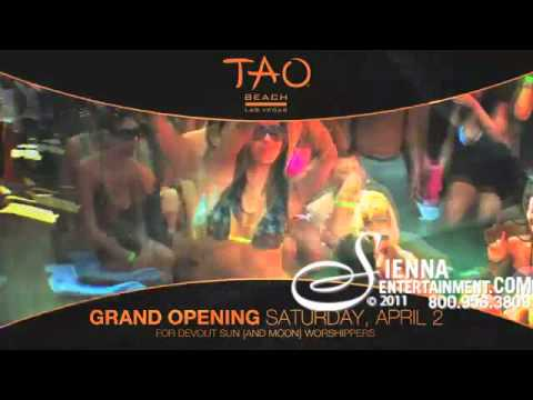 Tao Beach Pool Party Las Vegas 2011*Cabanas*VIP Services*Best Pool Party in Vegas