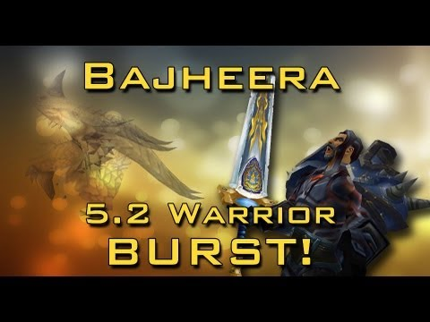 "Bajheera - ""Not Giving Up"" - 5.2 Arms Warrior Dragon Roar PvP"