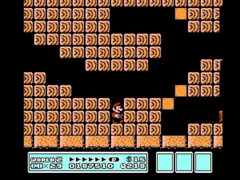 Super Mario Bros 3 2nd Run - World 1 part 2 + World 2 Vizzed.com Play - User video