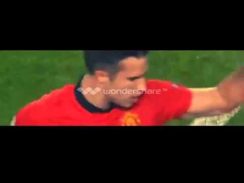 Manchester United vs Olympiakos Piraeus 3-0 2014 Robin Van Persie Hattrick Goal vs Olympiakos