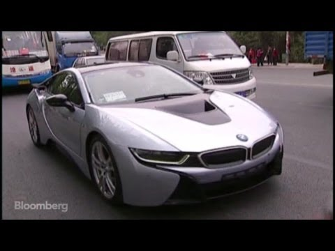 Test Driving BMW's i8: Tesla's $140K Competition