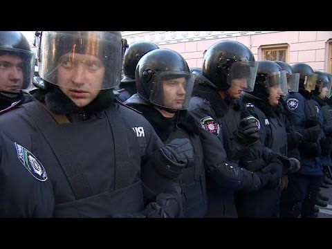 MAIDAN: ON THE FRONTLINE OF UKRAINE'S PROTESTS - BBC NEWS