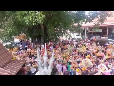 งานจุลกฐิน วัดพุน้อย บ้านหมี่ ลพบุรี 26 ตุลาคม 2557
