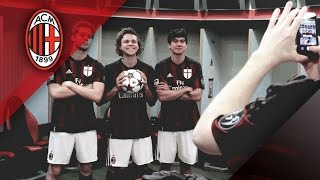 5 Seconds of Summer wear rossonero!   AC Milan Official