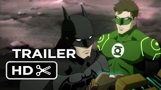 Justice League: War DVD Release TRAILER (2013) Superhero