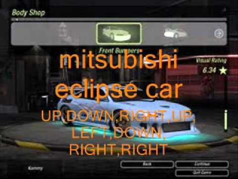 Cheats For Need For Speed Underground 2 Gamecube