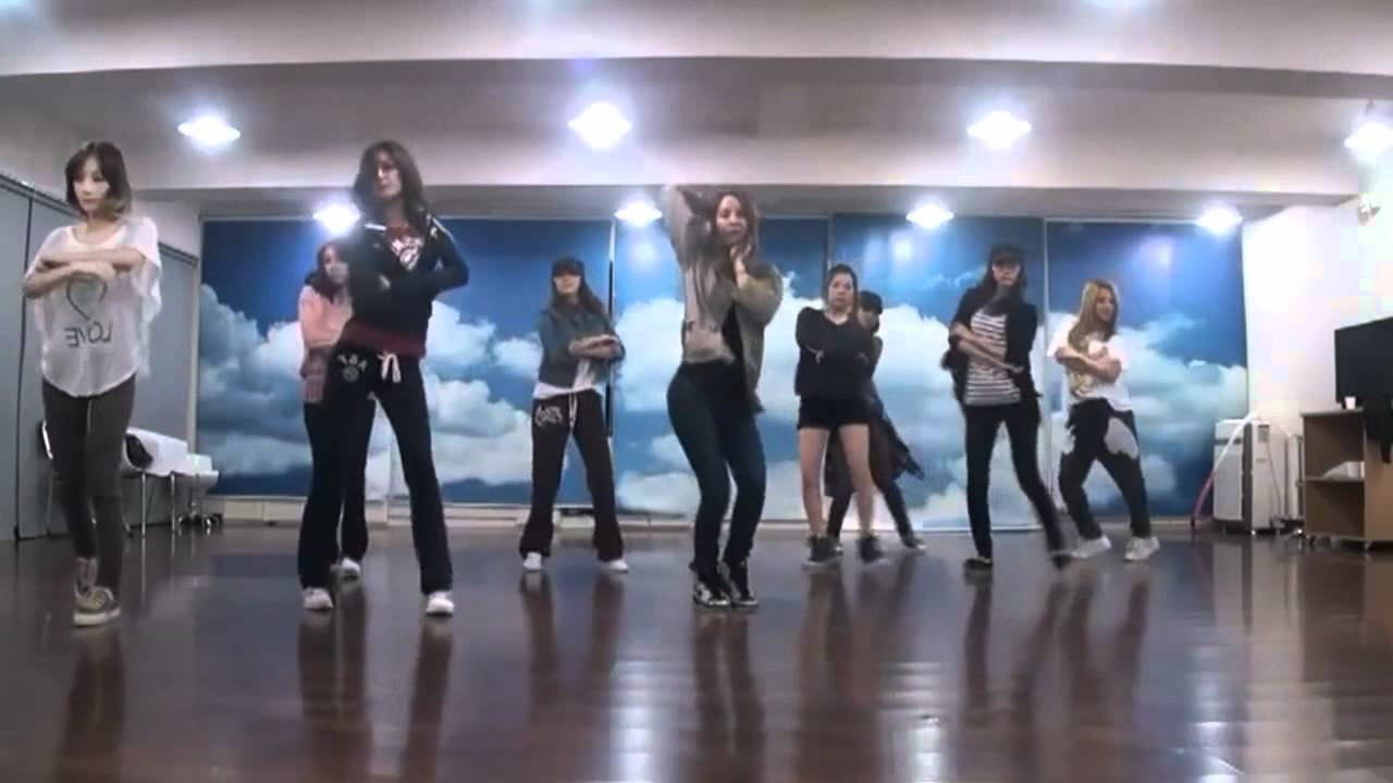 SNSD/Girls Generation - The Boys mirrored Dance Practice