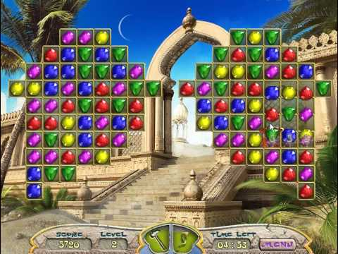 Ancient Jewels 2: the Mysteries of Persia (Gameplay)