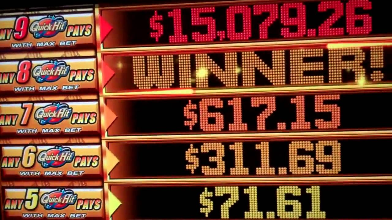 how to hit the jackpot on a slot machine