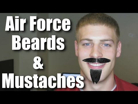 Facial Hair In The Air Force: Beards & Mustaches