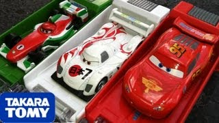 Cars 2 Tomica Shooter Box Launcher Lightning McQueen