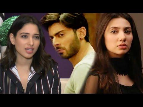Tamanna Bhatia Reaction On Pakistani Actors Threaten To Leave India