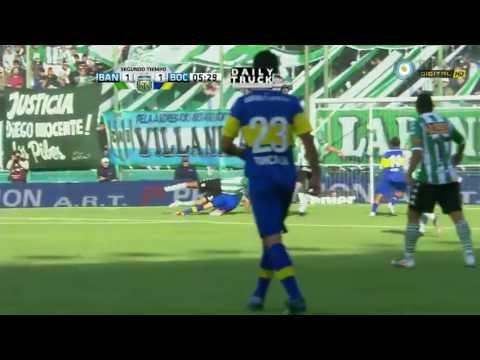 Banfield 1 - 1 Boca Juniors - Torneo Clausura 2012