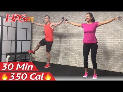 30 Min Low Impact Cardio Workout for Beginners & People Who Get Bored Easily - HIIT Beginner Workout