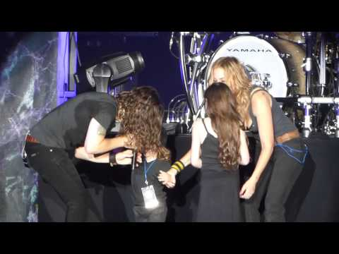 """Bassist Proposes to Drea de Matteo & Is This Love"" Whitesnake@Trump Taj Atlantic City 7/25/15"