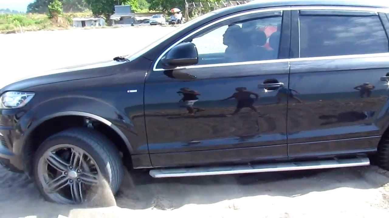 AUDI SPORT ABT CAR CRASH AKCAKOCA AUDI Q7 S-LINE OFF ROAD DUZCE ISGOREN - YouTube
