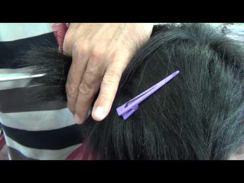 Alisamento definitivo em cabelos resistentes e impermeável