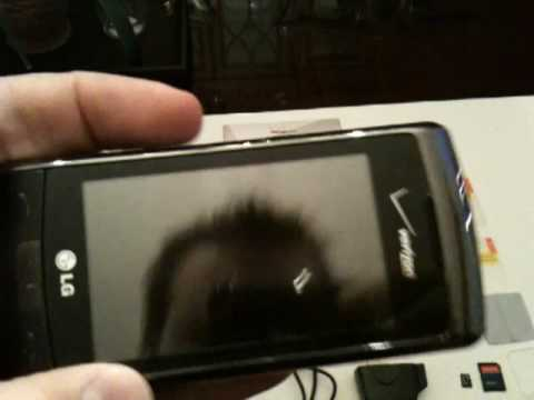 lg vx11000 env touch for verizon wireless youtube. Black Bedroom Furniture Sets. Home Design Ideas