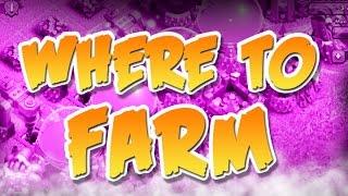 CLASH OF CLANS :: BEST LEAGUE TO FARM