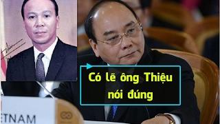 Thưa thủ tướng Nguyễn Xuân Phúc, không lẽ ông Thiệu luôn luôn đúng [108Tv]