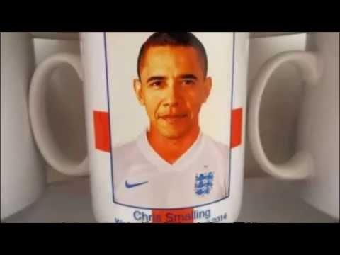 ワールドカップ 2014 ブラジル イングランド代表にオバマ!?