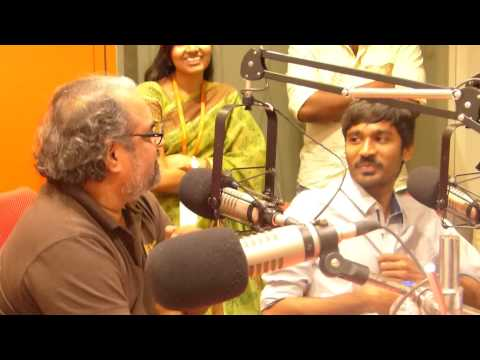 Dhanush  Maryan live interview at Suryan FM 93.5 Studios