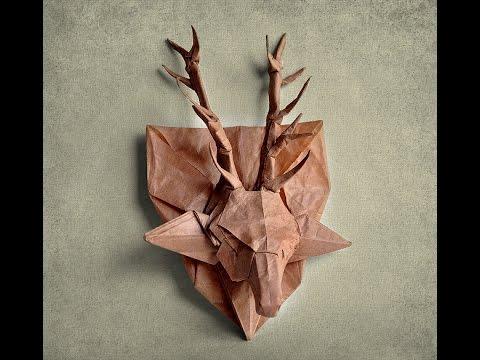easy origami deer instructions