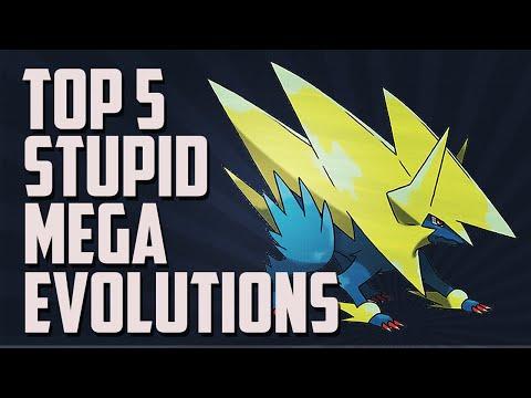 Top 5 | Stupid Mega Evolutions | Pokémon X and Y