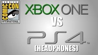 XBOX ONE vs PS4 [Headphones] (SDCC 2013) CCM13