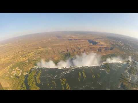 A Helicopter Flight over Victoria Falls Day 195
