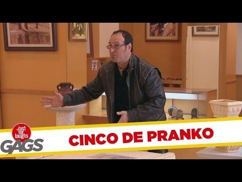 Getting Trashed Prank - #CincoDePranko