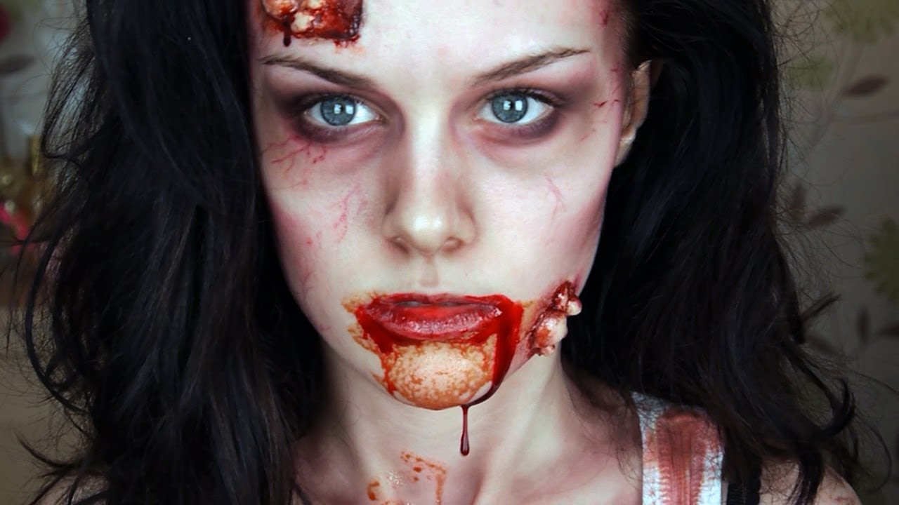 Zombie Makeup Tutorial - YouTube
