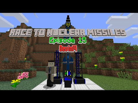 Minecraft: Race to Nuclear Missiles - Episode 15 - Devin14