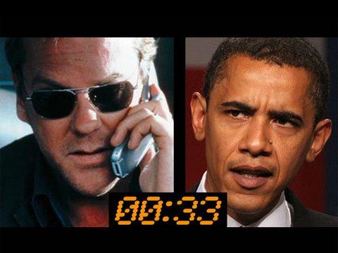 Jack Bauer warns Obama